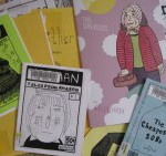 I discovered Kelly Froh's work in the Multnomah Co. Library's extensive zine collection. www.kellyfroh.blogspot.com