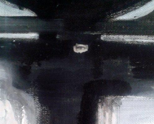 Triptych, detail