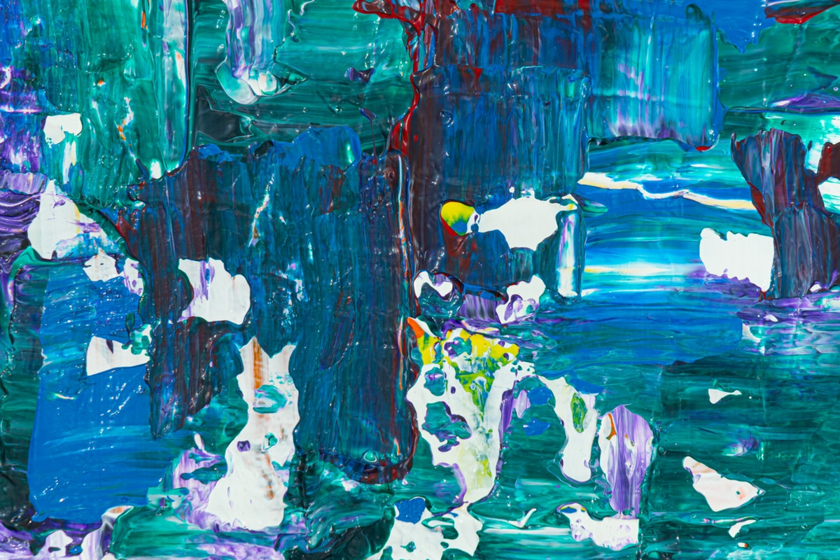 4k Wallpaper Abstract Expressionism Abstract Painting